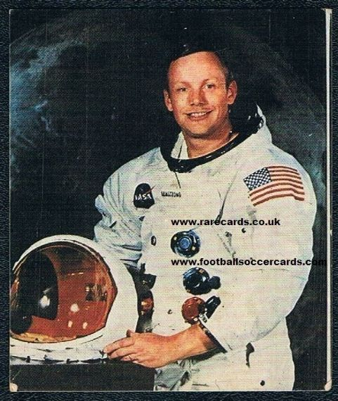1969 Neil Armstrong Rizla gum card rookie